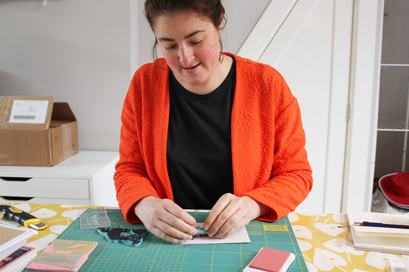 Meet the printmaker: mariemaakt on taking your passion
