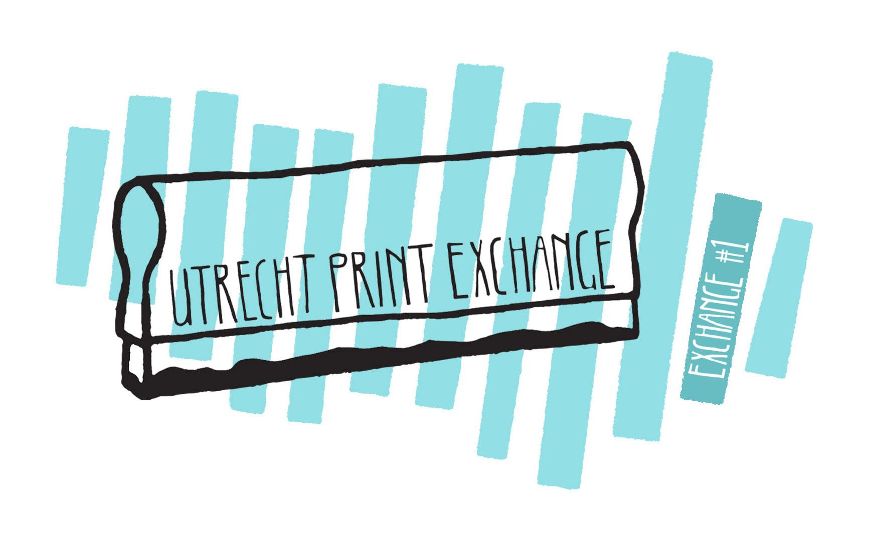 Utrecht Print Exchange #1 event banner